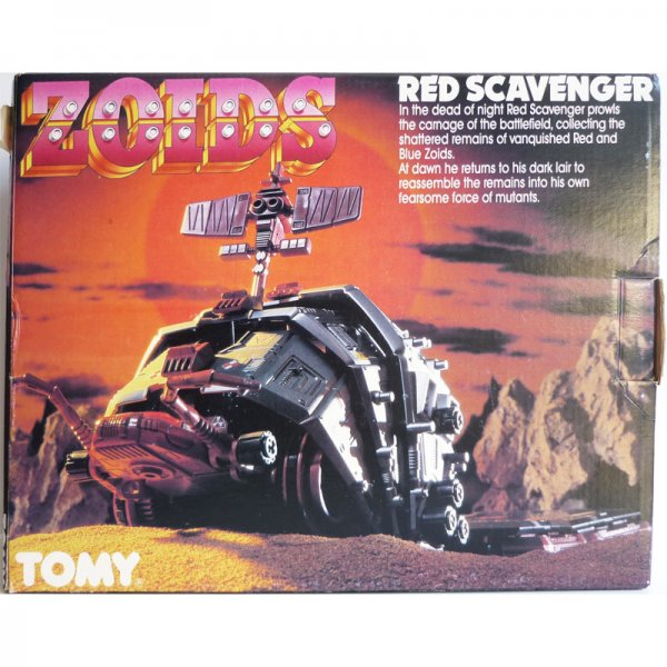 Zoids Red Scavenger