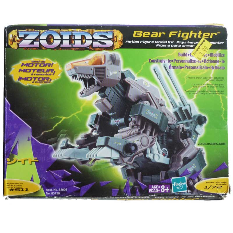 Zoids Bear Fighter