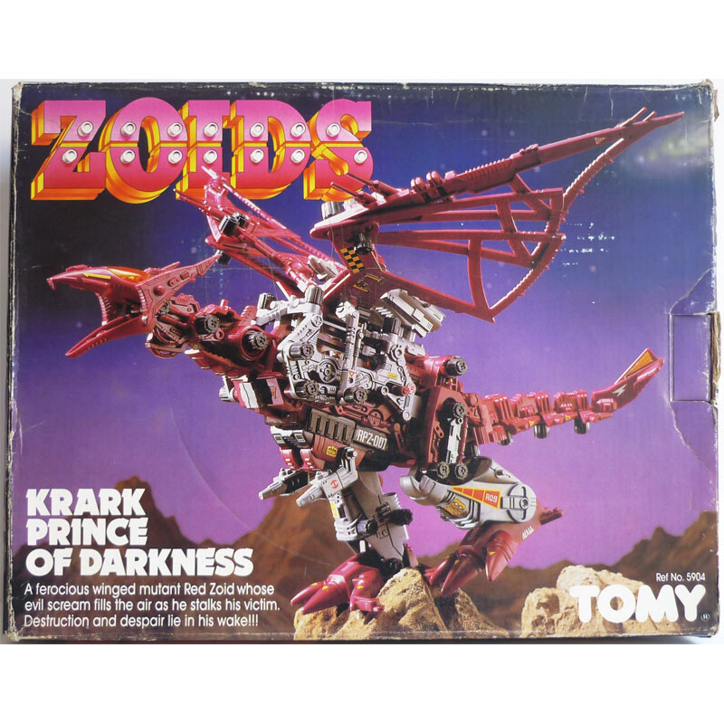 Zoids Krark prince of darkness