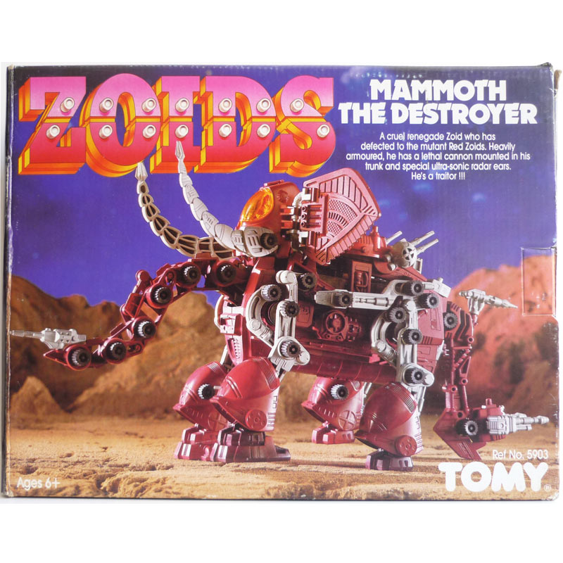Zoids Mammoth the destroyer