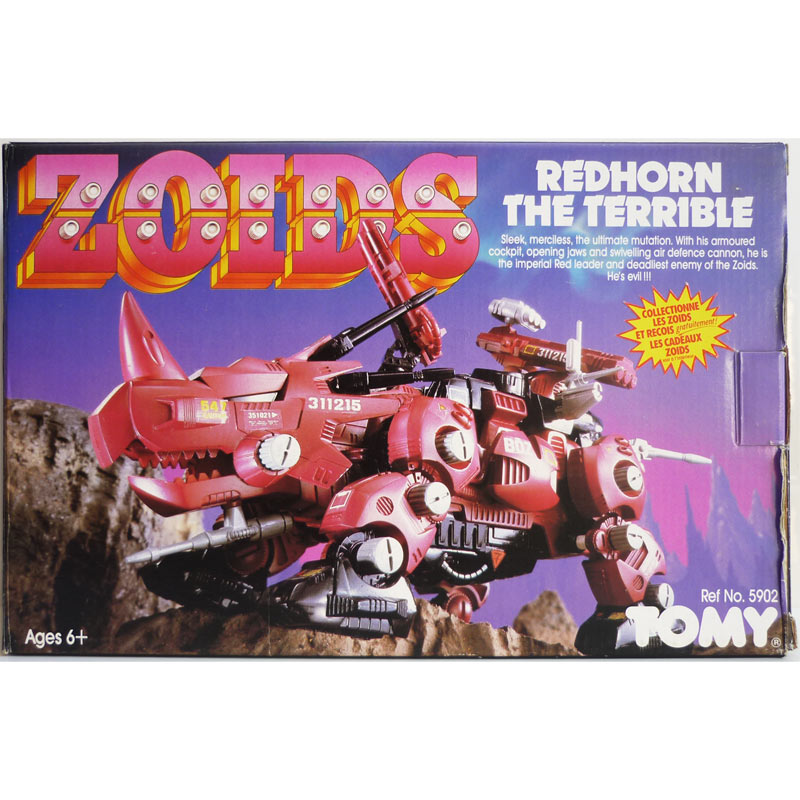 Zoids Redhorn the Terrible